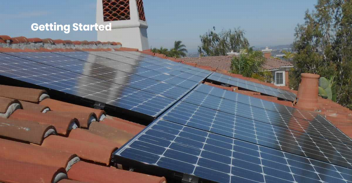 san diego county solar getting started