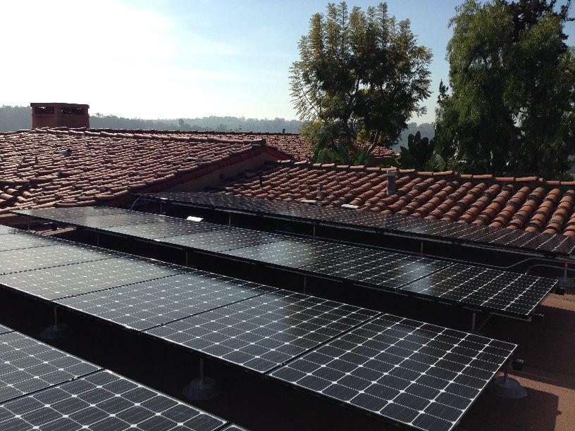 san diego county solar rancho santa fe installation